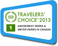 Travellers Choice 2013 #1 Waterpark in Canada