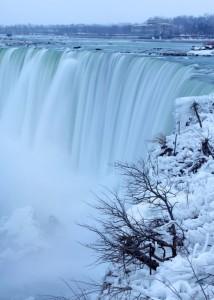 Winter in Niagara Falls.
