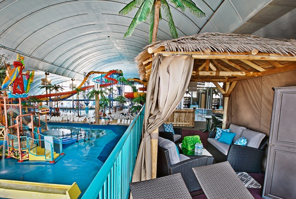 Fallsview Indoor Waterpark Private Cabana