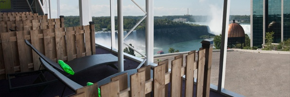 Fallsview Indoor Waterpark Private Cabana View