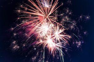 Niagara Falls fireworks show.